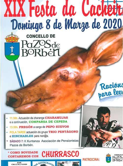 XIX FESTA DA CACHEIRA, día 8 de marzo